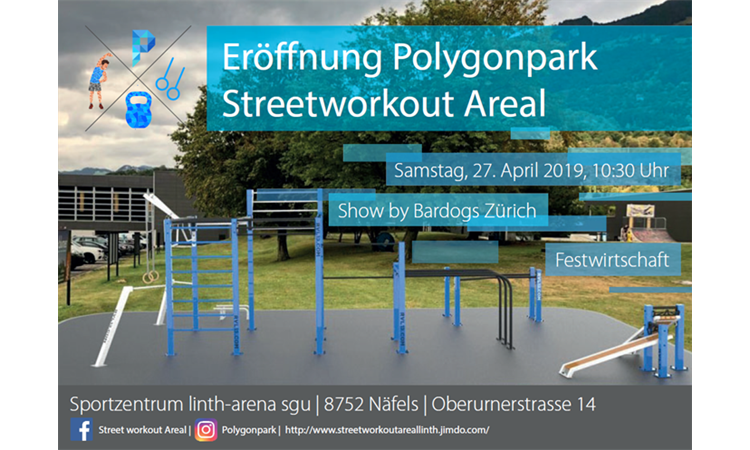 Eröffnung Polygonpark - Streetworkout Areal
