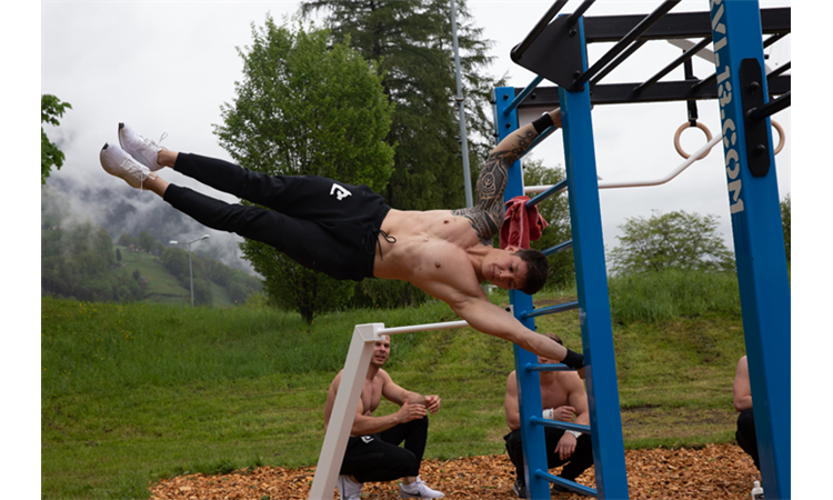 Polygon Park (Streetworkout Areal)